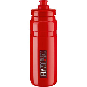 Elite Fly Team Trinkflasche 750ml red/bordeaux logo